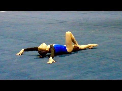 Gymnastics Level 8 Floor Routine 2016_02 Emily Gittemeier First Place