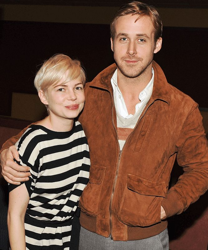 Michelle Williams And Ryan Gosling At The Premiere Of BLUE VALENTINE.  Picture Courtesy Of Altoids