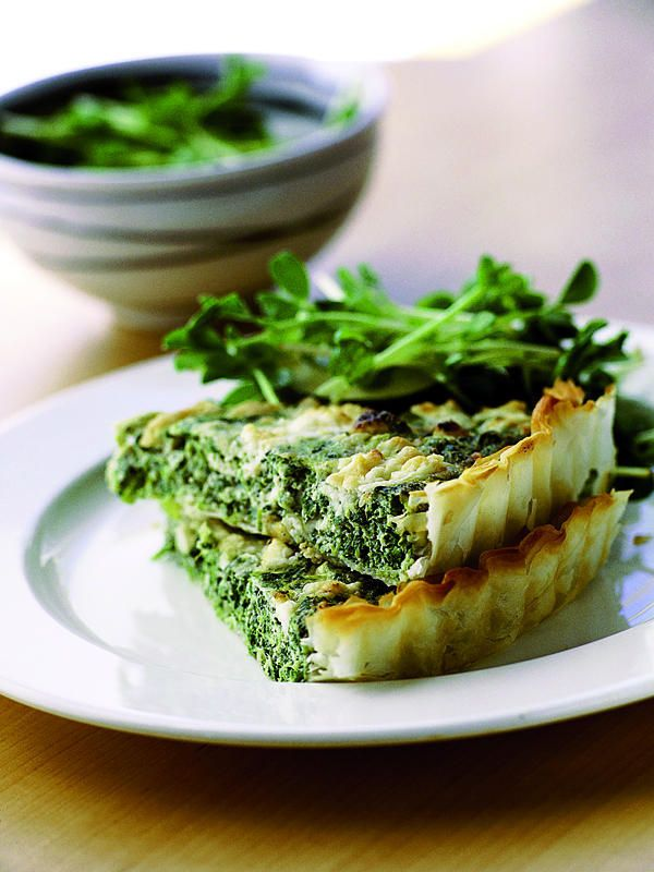 Receta de tartaleta de espinaca y queso feta http://buff.ly/1rNDImy