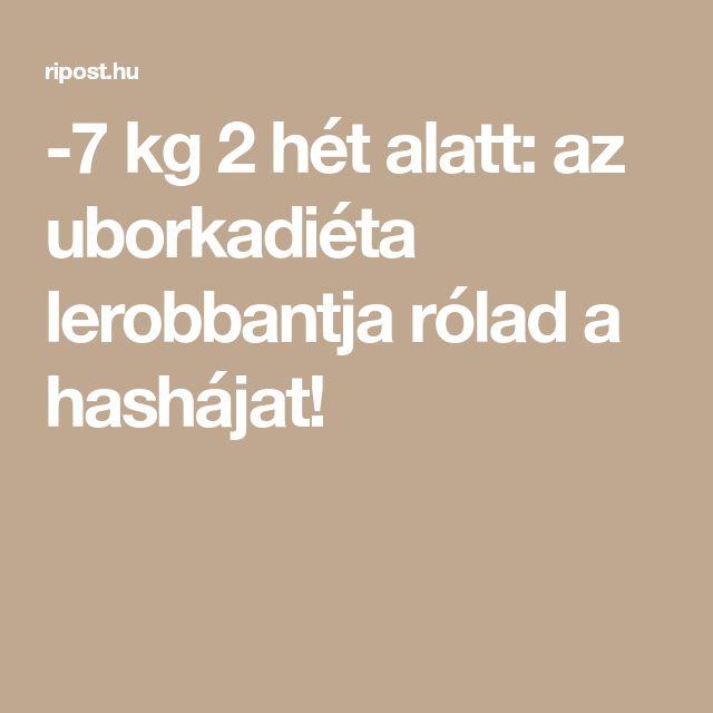 -7 kg 2 hét alatt: az uborkadiéta lerobbantja rólad a hashájat!