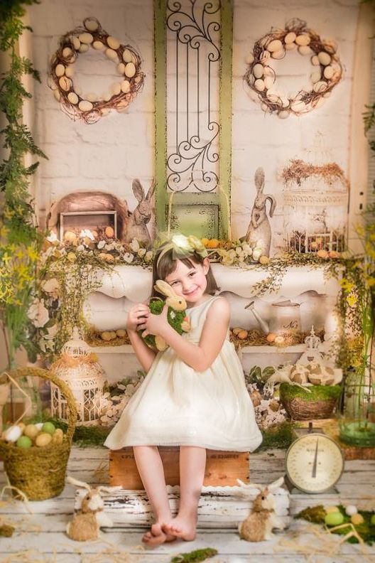 Elegant Easter Love This Photography Backdrop From Baby Dream Backdrops