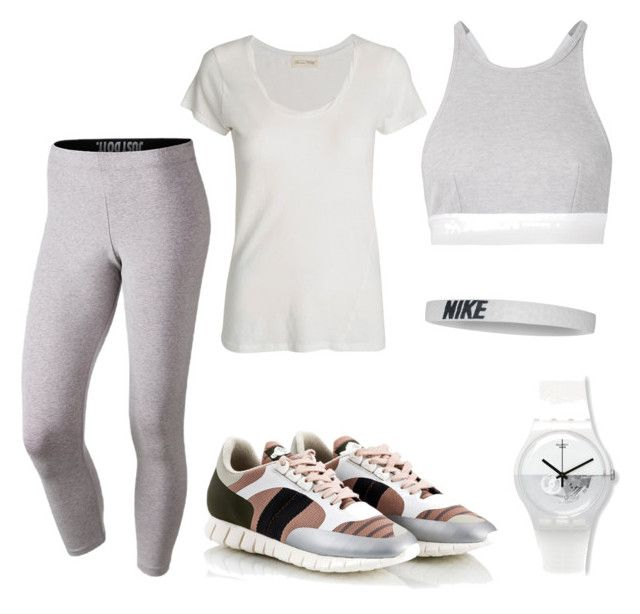 Just do it! by sheiscarla on Polyvore featuring polyvore, fashion, style, American Vintage, NIKE, T By Alexander Wang, Soya Fish, Fratelli Karida, women's clothing, women's fashion, women, female, woman, misses and juniors