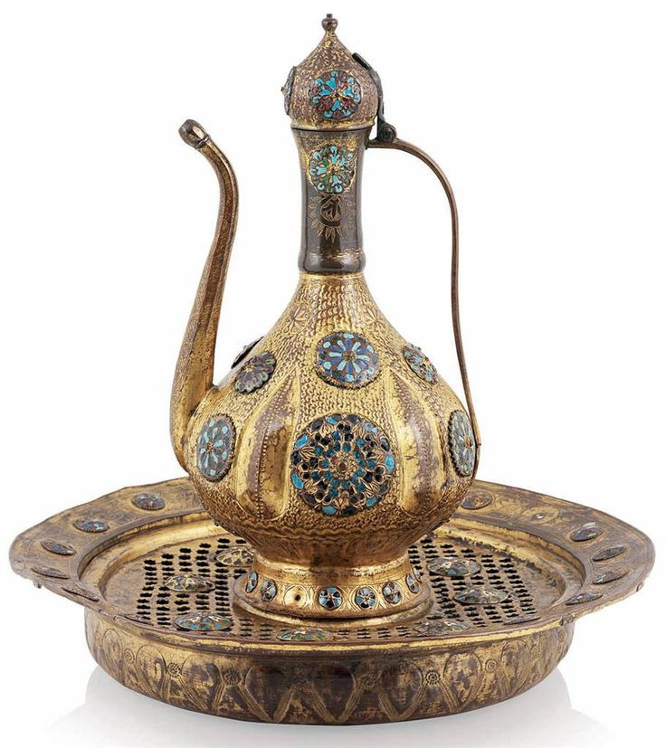 Osmanlı Mineli Tombak Leğen İbrik18 | par OTTOMAN IMPERIAL ARCHIVES