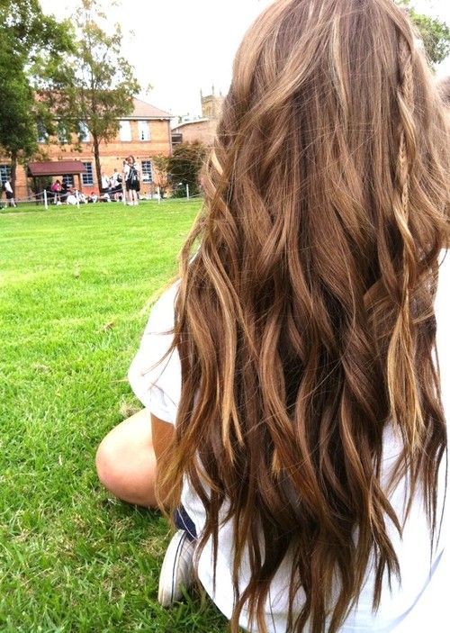 Niiice: Haircolor, Wavy Hair, Dreams Hair, Long Hair, Longhair, Hairstyle, Hair Style, Brown Hair, Hair Color