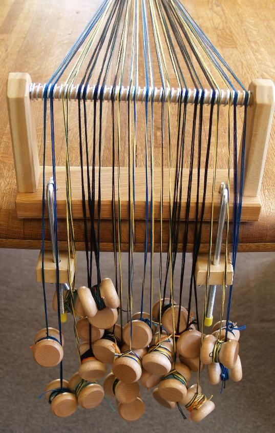 Better Loom than Gudrun developed! Good for tablet/card weaving, it handles the twisting.