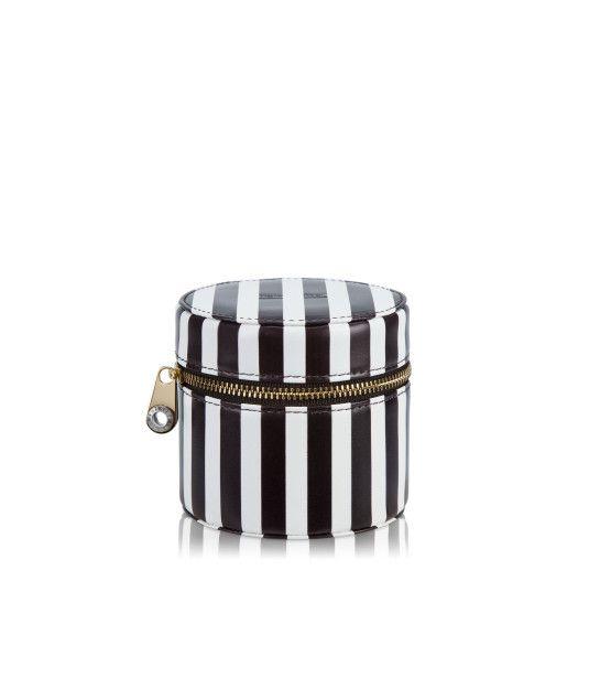 Centennial Stripe Travel Jewelry Box