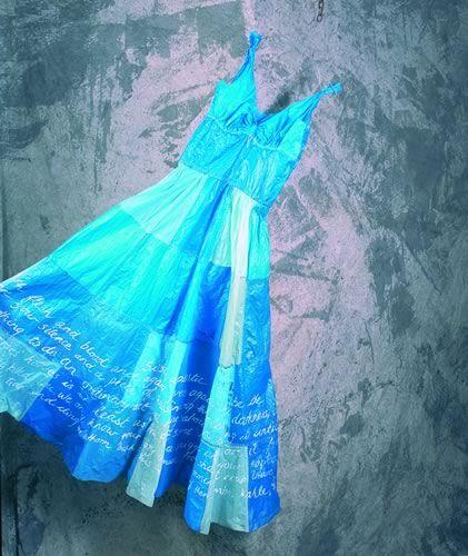 Blue dress judith mason veterinary