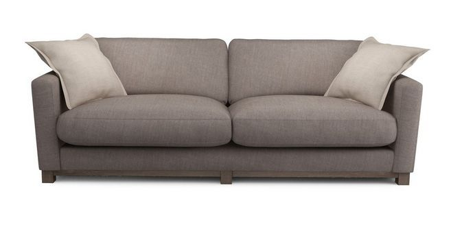 Chalk 4 Seater Sofa  New Chalk | DFS