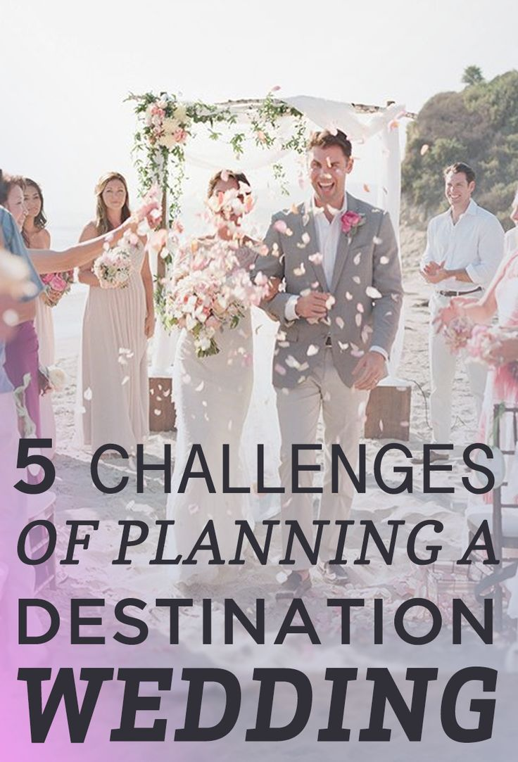 Think you can handle planning a #destination  #wedding?