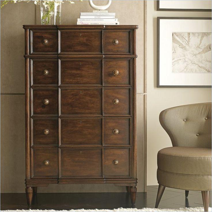 Charming Vintage   Drawer Chest In Vintage Cherry     Dresser   Bedroom   Stanley  Furniture