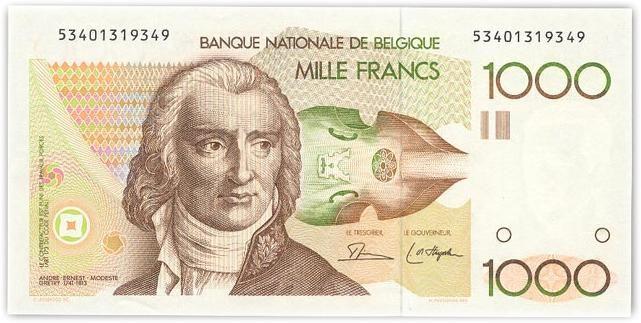 Billet de 1000 francs belges