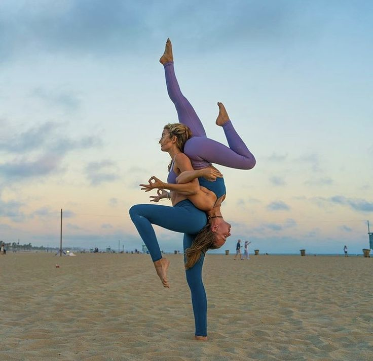 Pin by Amanda Conner on acro ideas. | Couples yoga poses ...