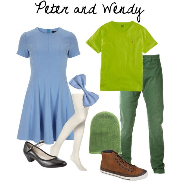 The inspiration: Disney's Peter Pan and Wendy Darling.
