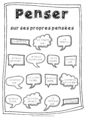 Télécharger « metacognition penser sur ses propres pensées.pdf » Une petite affiche pour se souvenir...