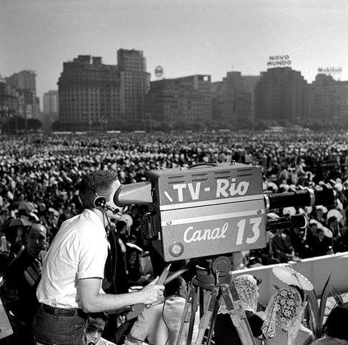Primórdios da TV brasileira no Rio Jean Manzon, circa 1950