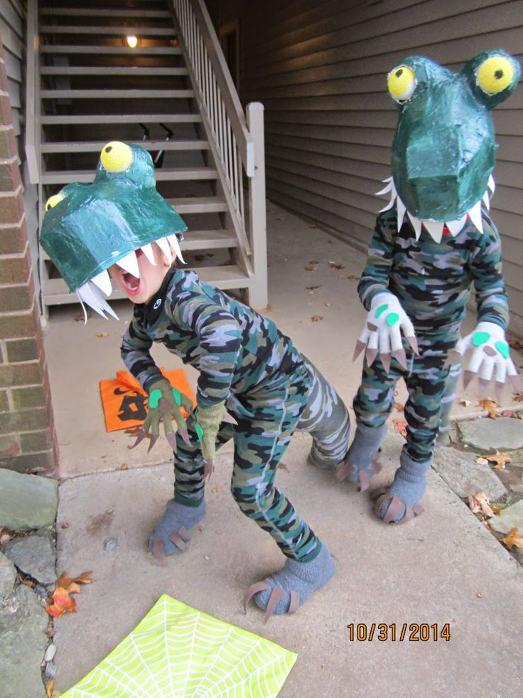 DIY T-Rex costumes