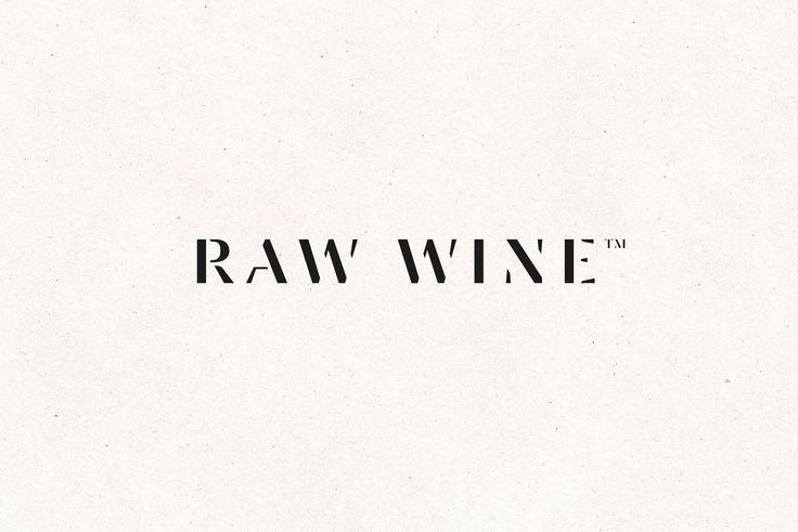 Raw Wine by The Counter Press, United Kingdom. #branding #logo