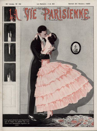 Miss Meadows' Pearls: La Vie Parisienne