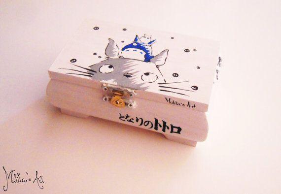 Peint à la main de Ghibli Studio série de boîtes / par MatitasArt