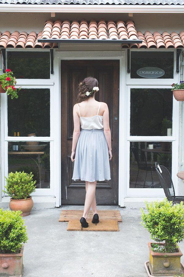 ViCTOR Bridesmaid dresses style GINA - Gathered Knee Length Skirt