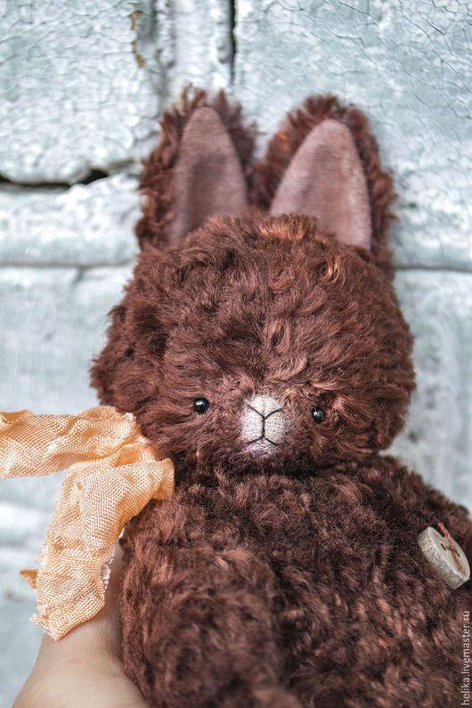 Мишки Тедди ручной работы. Ярмарка Мастеров - ручная работа. Купить Полли. Handmade. Коричневый, винтажный стиль, тедди примитив