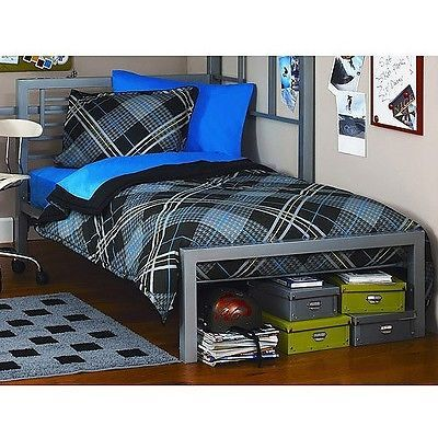 New Twin Modern Industrial Platform Bed Frame Metal