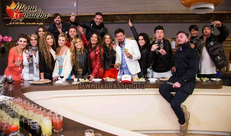 El exitoso Reality Chileno Amor a Prueba de Megavisión fue el nido de este emprendimiento: Menú a Prueba. Acá hay fotos exclusivas