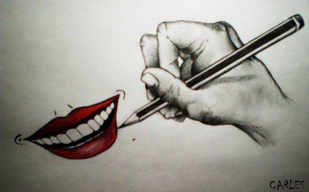 Dibuja una sonrisa en tu rostro hoy y siempre
