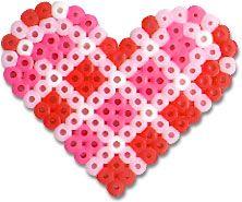 Strijkkralen hart