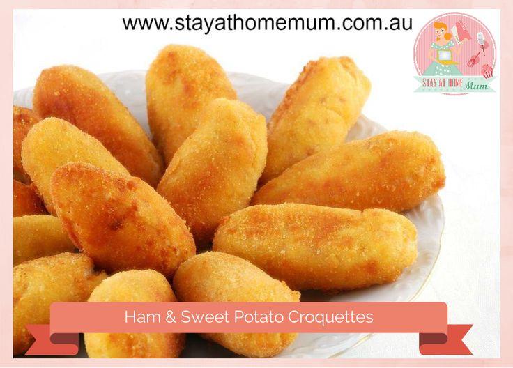 Sweet Potato & Ham croquettes