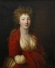 Anton Graff. Gräfin Medem geboren von Kleist, 1796