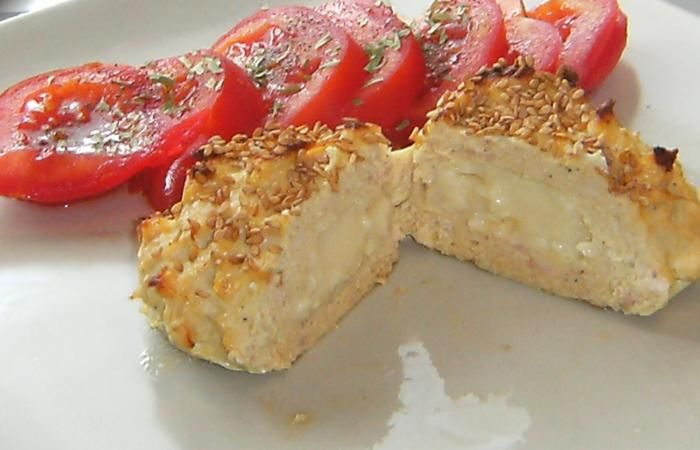 Régime Dukan (recette minceur) : Croquettes de poulet et jambon fourrées au fromage #dukan http://www.dukanaute.com/recette-croquettes-de-poulet-et-jambon-fourrees-au-fromage-11543.html