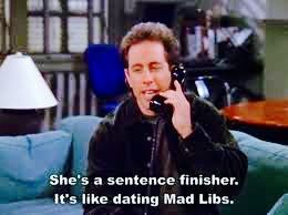 seinfeld dating game