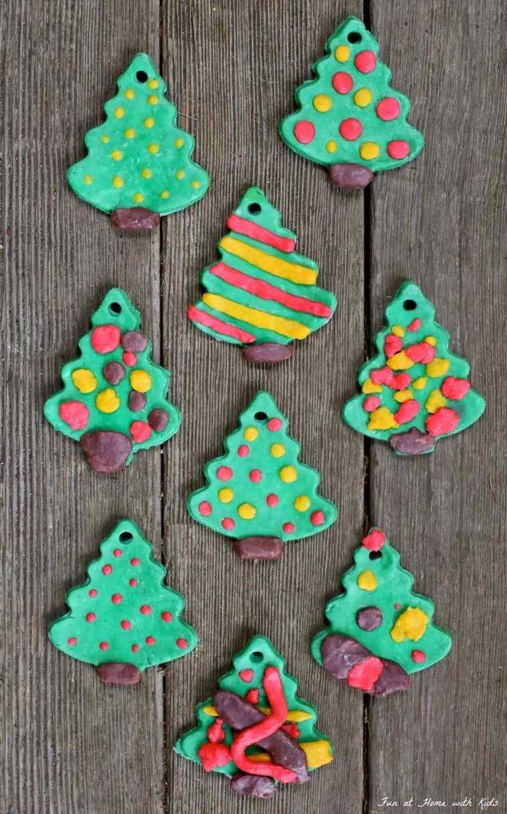 Ordinary Deco De Noel Pate A Sel #4: Décoration De Noël En Pâte à Sel Originale Et Personnalisée