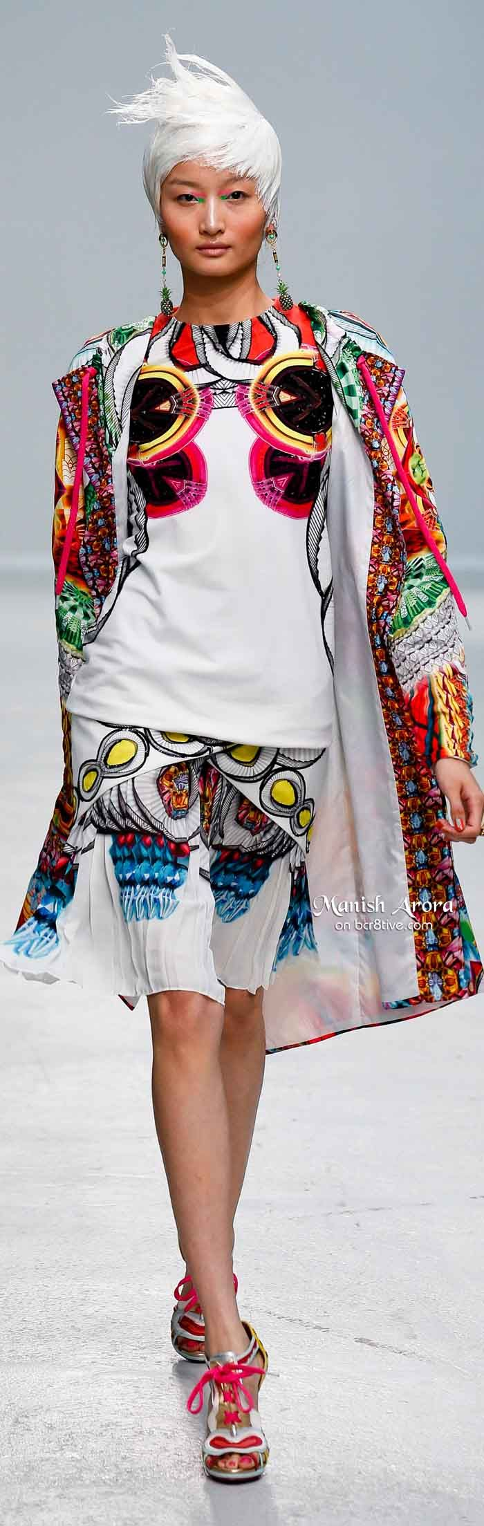 2014 urban fashion trends for women - Manish Arora Spring 2014