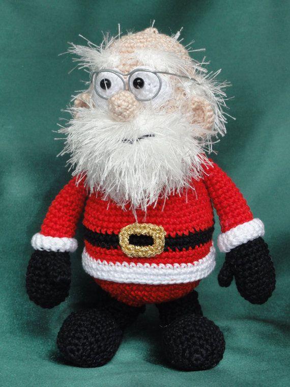 Santa Claus Amigurumi Crochet Pattern by IlDikko on Etsy