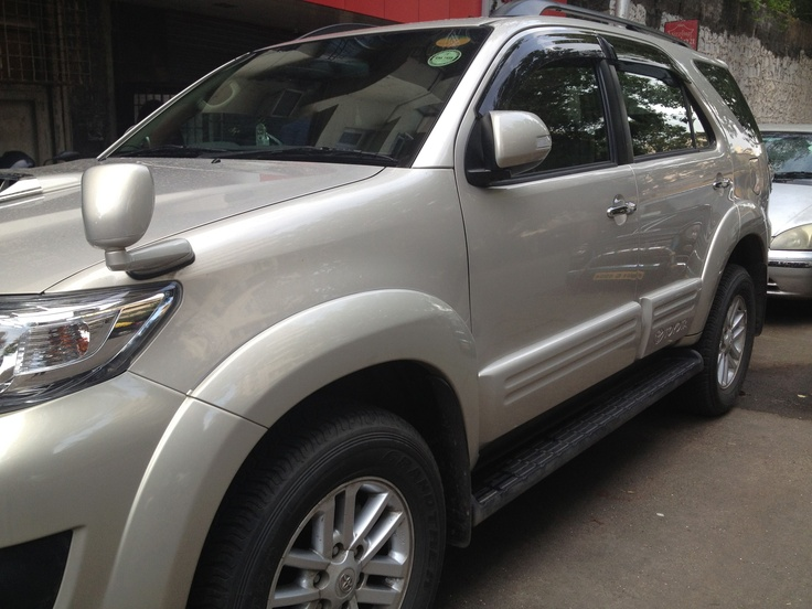 Toyota Fortuner Cladding installed #rhymenrhythm