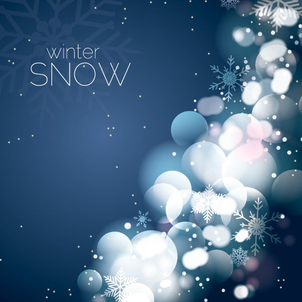 Winter Snow Vector Graphic - DryIcons