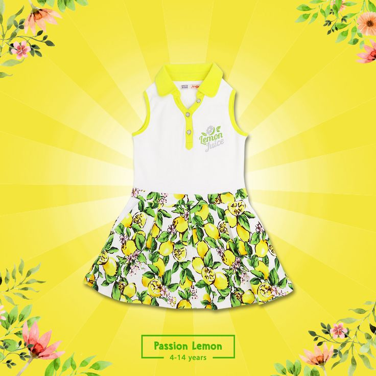 Who can say no to this bright and colorful dress?  Passion Lemon collection now available for your girls aged 4-14 years.  #jsp #jsp962 #kids #baby #kidsfashion #kidsindo #kidsstyle #kidsclothes #kidsclothing #babykids #babyclothes #children #childrenclothes #mataharimall #yogyastore #bajuanak #anak #instakids #instababy