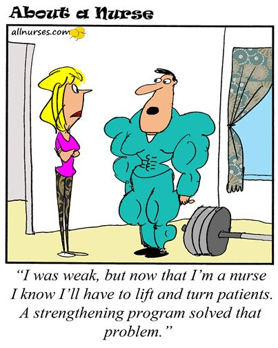 Cartoon: Are you built for nursing? - About A Nurse - Nursing Cartoon Series Nursing Humor
