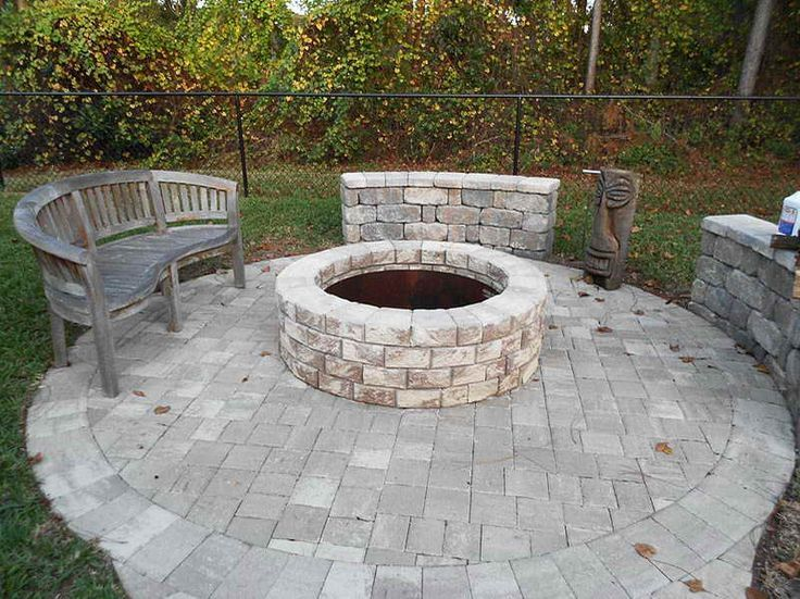 Outdoor : Bring The Fire Pit Insert To The Patio With Aztec Statue Bring  The Fire Pit Insert To The Patio Outdoor Fire Pitu201a Patio Fire Pitu201a Fire Piu2026