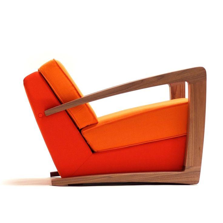 Kustom Lounge Chair Side Profile