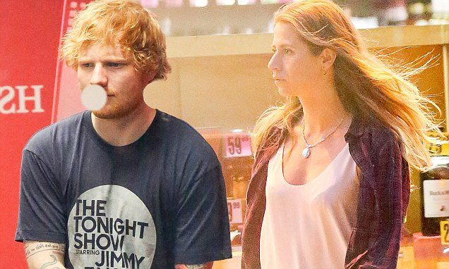 Ed Sheeran and Cherry Seaborn out again in New York City