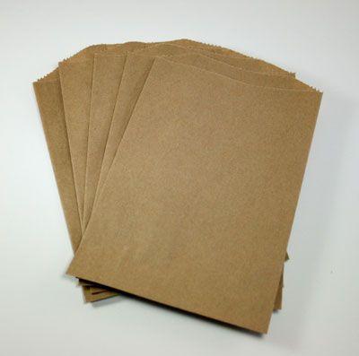 Brown Kraft Bags - Set of 25, $3.00  Invitation bags