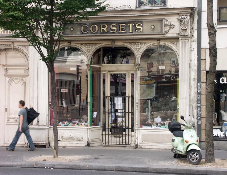 Corsets, Paris: Unusual Shops, Resto Cafe Boutique Places, Cafe Shops Collab, Shops Pin, France Paris, Shops Front