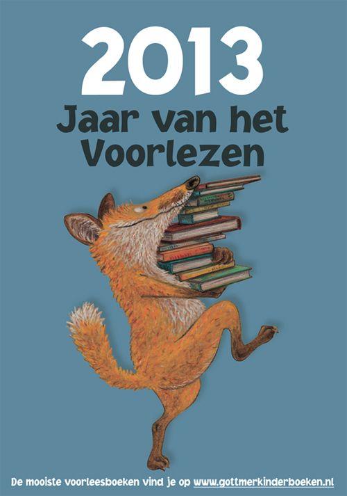 poster 'jaar van het voorlezen'