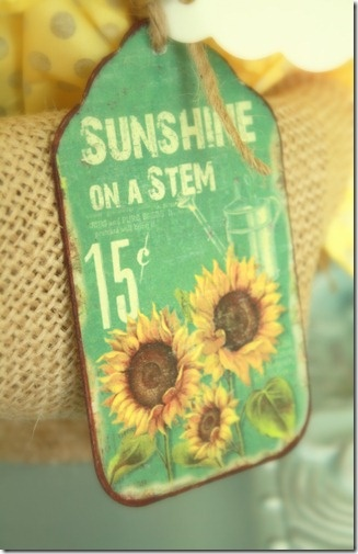 handmade tag...i have a canvas of this in my kitchen...love it