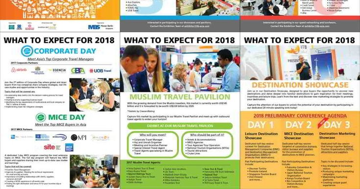 Hotelier Indonesia Events : Download ITB Asia 2018 Event At a Glance Join us for the eleventh edition of ITB Asia, 17 - 19 October 2018 at Marina Bay Sands, Singapore. Expect new features including exciting showcases, dedicated pavilions and a bigger and better MICE and Corporate Day this October at ITB Asia. https://goo.gl/pymBZD