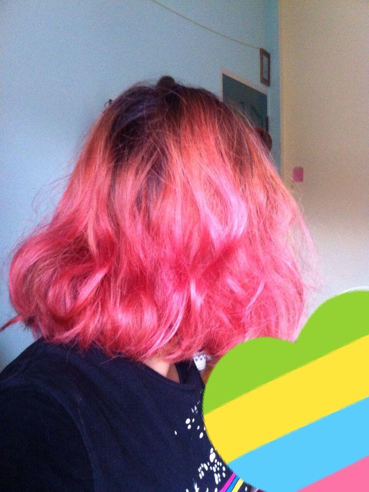 pink + bright blonde on 20.09.14 photo taken 21.09