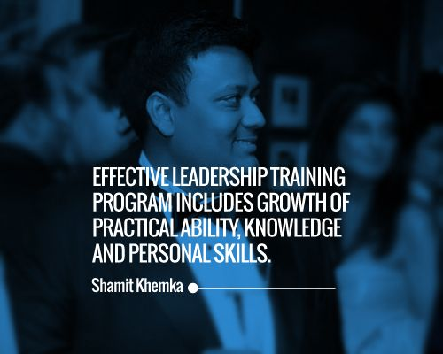 Effective Leadership training program includes growth of practical ability, knowledge and personal skills. https://klout.com/skhemka, https://foursquare.com/user/152832174